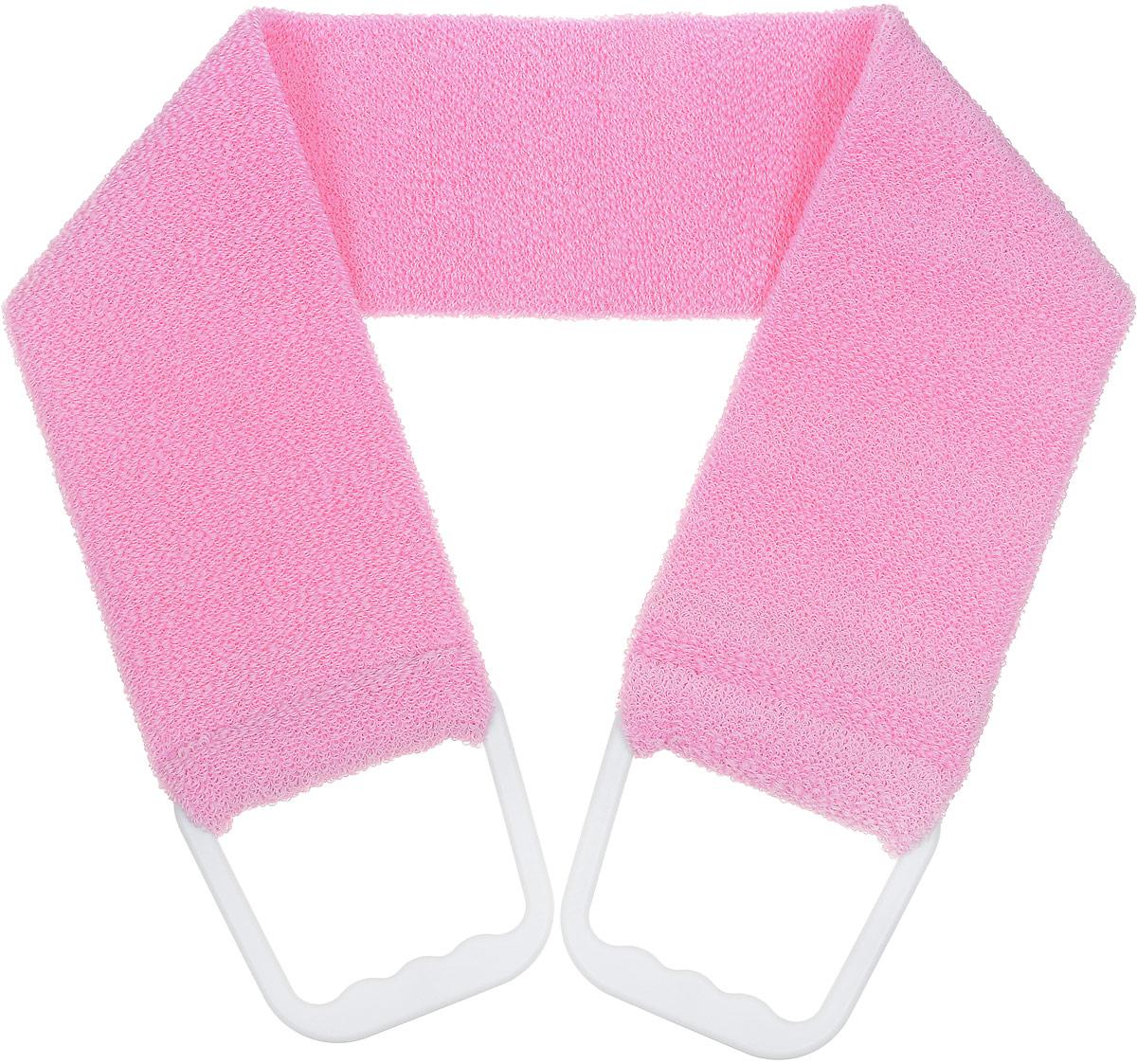 Riffi Мочалка-пояс мягкая, цвет: розовый. 920 riffi повязка для волос цвет коралловый
