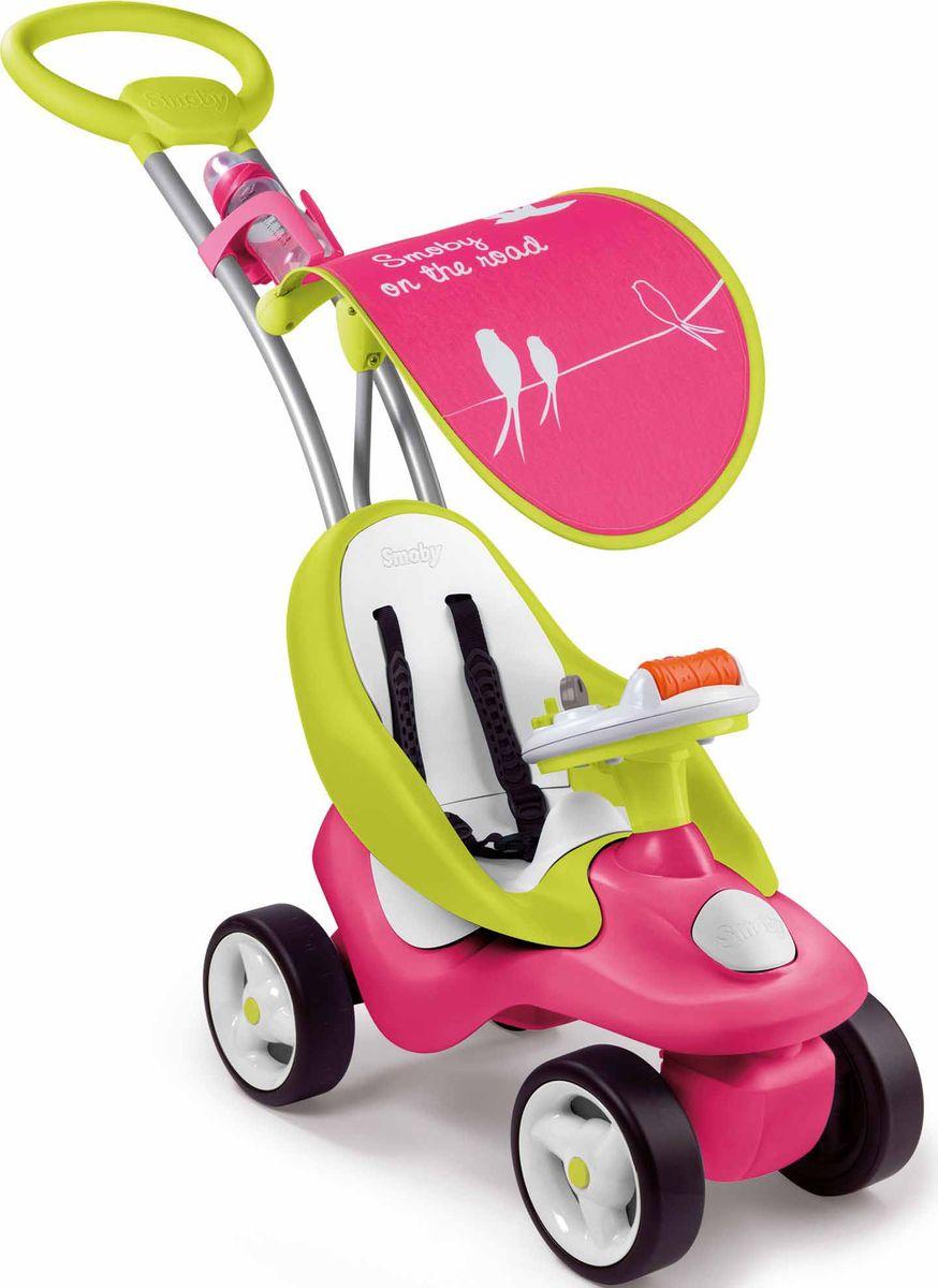 Smoby Каталка-трансформер детская Bubble Go Neo цвет розовый