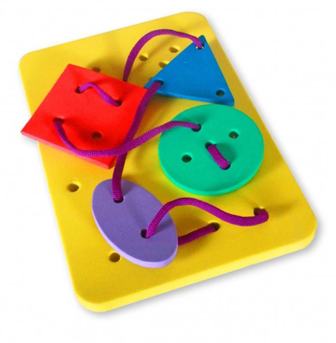 цена на Бомик Игра-шнуровка Геометрические фигуры в ассортименте