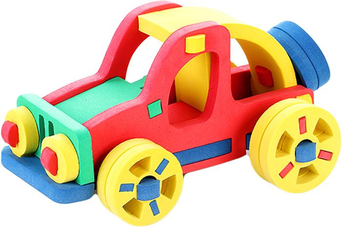 Бомик Конструктор Автомобиль цвет основы синий бомик пазл для малышей цифры цвет основы синий