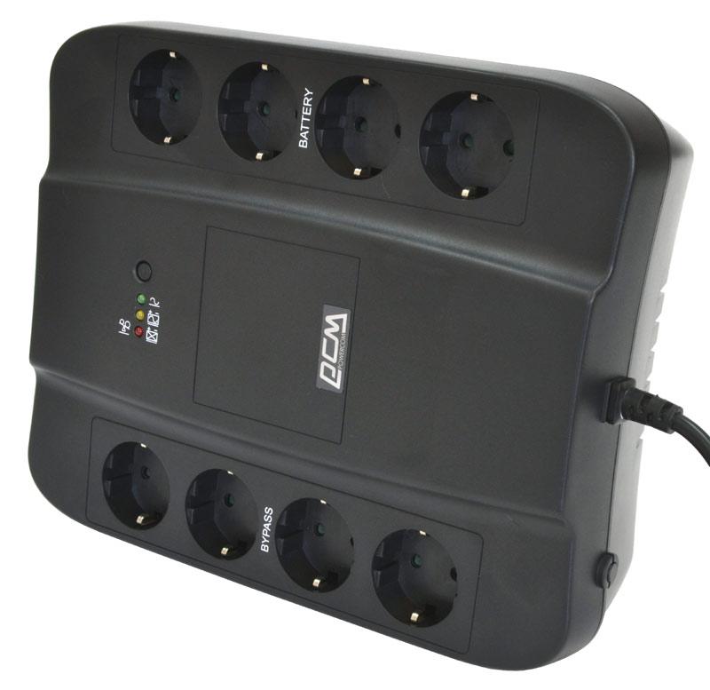 Powercom Spider SPD-650E резервный ИБПSPD-650EОффлайн источник бесперебойного питания для защиты персональных компьютеров, рабочих станций, сетевых коммутаторов, модемов, роутеров, сетевых хранилищ данных и другого коммуникационного оборудования от основных неполадок с электропитанием. Новейший микропроцессор, режим энергосбережения Green Mode, «холодный» старт, автоматический выключатель для защиты от короткого замыкания и перегрузок – все это обеспечивает надежность работы Вашего оборудования. Для продления срока службы аккумуляторной батареи используется алгоритм зарядки с учетом температурной компенсации. Большое количество выходных евророзеток и возможность крепления ИБП на любой вертикальной поверхности создают дополнительные удобства для пользователя.