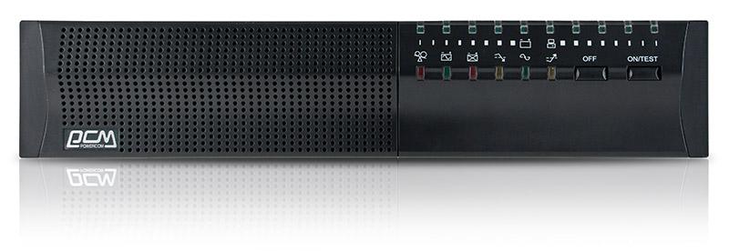 Powercom Smart King Pro+ SPR-1000 линейно-интерактивный ИБПSPR-1000Линейно-интерактивные ИБП SPR серии Smart King PRO+ обеспечивают синусоидальную форму выходного напряжения и универсальны по типу установки - могут быть расположены либо в стандартной серверной стойке, либо на полу. Модели этой серии предназначены для защиты персональных компьютеров, рабочих станций, серверов и другого оборудования, критичного к форме питающего напряжения, от основных неполадок с электропитанием: высоковольтных импульсов, электромагнитных и радиочастотных помех, понижений, повышений и полного исчезновения напряжения в электросети. Встроенный стабилизатор напряжения (AVR) поддерживает выходное напряжение в пределах нормы, не используя ресурс аккумуляторов при колебании напряжения электросети в широком диапазоне. Модели SPR имеют большое количество выходных розеток и широкий выбор портов подключения – USB, RS-232, внутренний слот для установки SNMP-карты. Возможность использования SNMP-карты и поставляемое в комплекте программное обеспечение делают ИБП Smart King PRO+ привлекательными для защиты ответственного вычислительного и телекоммуникационного оборудования мощностью до 3000 ВА.