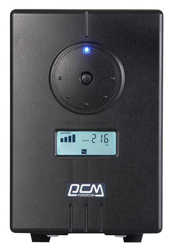 Powercom Infinity INF-1500 линейно-интерактивный ИБП - Источники бесперебойного питания (UPS)