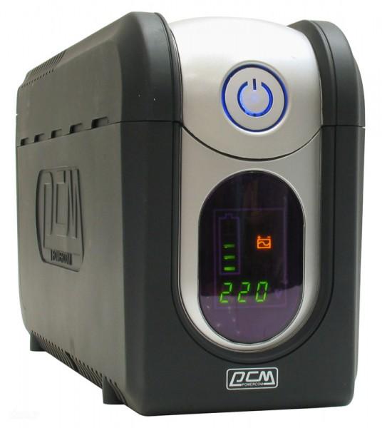 Powercom Imperial IMD-525AP линейно-интерактивный ИБПIMD-525A-6C0-244PЛинейно-интерактивные источники бесперебойного питания серии IMPERIAL предназначены для защиты персональных компьютеров и рабочих станций от основных неполадок с электропитанием: высоковольтных выбросов, электромагнитных и радиочастотных помех, понижений, повышений и полного исчезновения напряжения в электросети. Встроенный стабилизатор напряжения (AVR) поддерживает выходное напряжение в пределах нормы, не используя ресурс аккумулятора при колебании напряжения электросети в широком диапазоне. В корпусе ИБП предусмотрен отдельный отсек для удобства замена аккумулятора пользователем. Коммуникационный порт USB для соединения с компьютером позволяет сворачивать работу операционной системы с сохранением данных при разряде аккумулятора ИБП. Благодаря этому модели IMPERIAL обеспечат не только защиту электропитания, но и сохранность данных и программ компьютера.