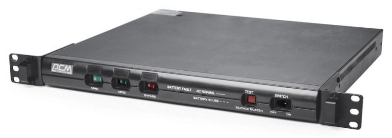Powercom King Pro RM KIN-1000AP линейно-интерактивный ИБПKRM-1000-6G0-244PЛинейно-интерактивные ИБП серии KING PRO RM предназначены для защиты серверов и сетевого оборудования для 19 стойки от основных неполадок с электропитанием: высоковольтных выбросов, электромагнитных и радиочастотных помех, понижений, повышений и полного исчезновения напряжения в электросети. Встроенный стабилизатор напряжения обеспечивает работу подключенного оборудования при колебаниях напряжения электросети без использования ресурса аккумуляторов. Наличие коммуникационных портов RS-232 и/или USB позволяет автоматически завершить работу операционной системы при разряде аккумуляторов, исключая потерю данных при долговременном исчезновении напряжения во входной электросети. Модели KIN-600AP RM и KIN-1000AP RM занимают в стойке высоту всего 1U. Серия KING PRO RM предлагает большой выбор решений для 19 стойки по минимальной цене.
