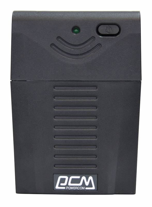 Powercom Raptor RPT-600A EURO линейно-интерактивный ИБПRPT-600A EUROЛинейно-интерактивные ИБП серии RAPTOR предназначены для защиты персональных компьютеров и сетевого оборудования от основных неполадок с электропитанием: перегрузки или короткого замыкания; понижений, повышений и полного исчезновения напряжения в электросети. Благодаря наличию встроенного стабилизатора напряжения все модели серии RAPTOR поддерживают выходное напряжение в пределах нормы при постоянно пониженном напряжении электросети, не используя ресурс аккумулятора. Для удобства подключения оборудования в ИБП предусмотрено три выходных разъема с батарейной поддержкой. ИБП серии RAPTOR, отличаясь невысокой ценой, обеспечат защиту Вашей техники от основных проблем электросети, занимая минимум рабочего пространства.