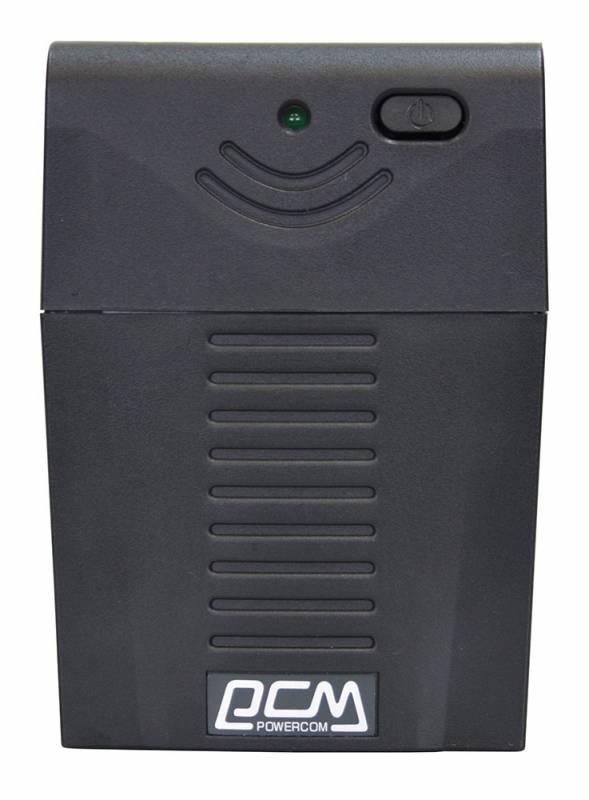 Powercom Raptor RPT-1000AP линейно-интерактивный ИБПRPT-1000APЛинейно-интерактивные ИБП серии RAPTOR предназначены для защиты персональных компьютеров и сетевого оборудования от основных неполадок с электропитанием: перегрузки или короткого замыкания; понижений, повышений и полного исчезновения напряжения в электросети. Благодаря наличию встроенного стабилизатора напряжения все модели серии RAPTOR поддерживают выходное напряжение в пределах нормы при постоянно пониженном напряжении электросети, не используя ресурс аккумулятора. Для удобства подключения оборудования в ИБП предусмотрено три выходных разъема с батарейной поддержкой. Коммуникационный порт для связи с компьютером позволит своевременно завершить работу системы с сохранением данных. ИБП серии RAPTOR, отличаясь невысокой ценой, обеспечат защиту Вашей техники от основных проблем электросети, занимая минимум рабочего пространства.
