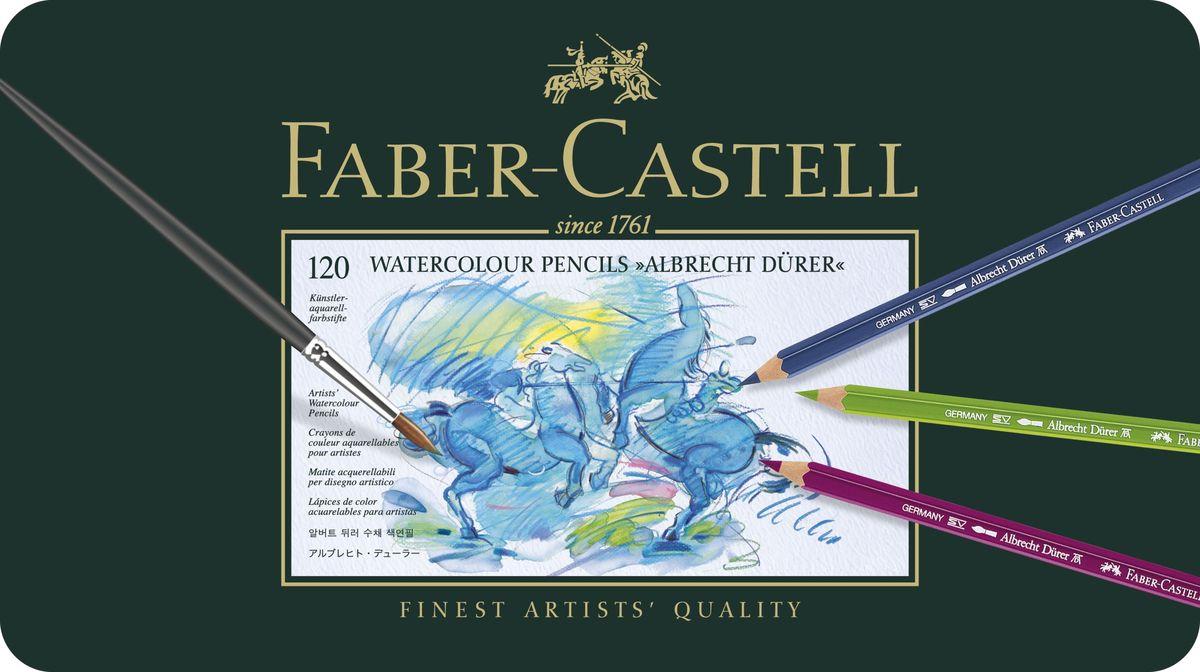 Faber-Castell Акварельные карандаши Albrecht Durer 120 шт - Письменные принадлежности - Карандаши