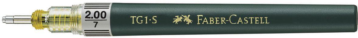 Faber-Castell Рапидограф TG1-S 2 мм160002Рапидограф TG1-S идеальныйвысококачественный интрумент для черчения, кончик из нержавеющей стали, для туши, растворимой в воде. Обозначение толщины линии на корпусе, код цветов ISO на капсуле или балончике для заправки тушью, тощина 2,00 мм