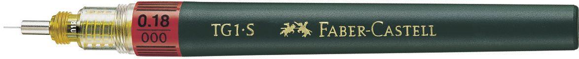 Faber-Castell Рапидограф TG1-S 0,18 мм160018Рапидограф TG1-S идеальныйвысококачественный интрумент для черчения, кончик из нержавеющей стали, для туши, растворимой в воде. Обозначение толщины линии на корпусе, код цветов ISO на капсуле или балончике для заправки тушью, тощина 0,18 мм