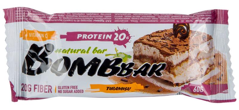 """""""Bombbar"""" - это спортивный батончик с высоким содержанием протеина и минимальным количеством сахара. Обладает восхитительным вкусом, быстро снабжает организм многокомпонентным протеином, отлично подходит для белковой диеты.Протеиновый батончик """"Bombbar"""":- поможет снизить вес,- питает мышечную массу,- придает эффект сытости,- улучшает общее состояние системы пищеварения,- способствует росту полезной микрофлоры,- способствует подержанию здорового уровня сахара в крови,- не содержит сахар,- не содержит ГМО.Состав: белки 40 % (концентрат сывороточного белка, концентрат молочного белка), изомальтоолигосахарид , вода, шоколад (сахар, какао-масса, какао-масло, эмульгатор (соевый лецитин)), эквивалент масла какао, агенты влагоудерживающие (глицерин, сорбитол), соль, ароматизаторы натуральные, регулятор кислотности - лимонная кислота, аскорбиновая кислота(витамин С), подсластитель - стевиозид.  Как повысить эффективность тренировок с помощью спортивного питания? Статья OZON Гид"""