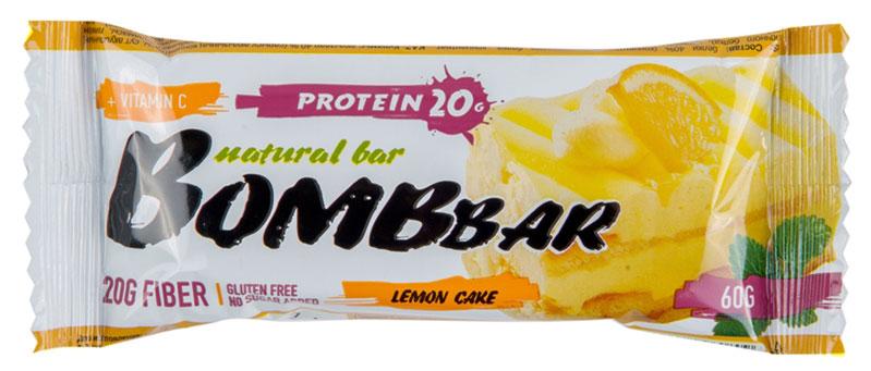"""""""Bombbar"""" - это спортивный батончик с высоким содержанием протеина и минимальным количеством сахара. Обладает восхитительным вкусом, быстро снабжает организм многокомпонентным протеином, отлично подходит для белковой диеты.Протеиновый батончик """"Bombbar"""":- поможет снизить вес,- питает мышечную массу,- придает эффект сытости,- улучшает общее состояние системы пищеварения,- способствует росту полезной микрофлоры,- способствует подержанию здорового уровня сахара в крови,- не содержит сахар,- не содержит ГМО.Состав: белки 40 % (концентрат сывороточного белка, концентрат молочного белка), изомальтоолигосахарид , вода, эквивалент масла какао, цедра лимона, агенты влагоудерживающие (глицерин, сорбитол), соль, регулятор кислотности - лимонная кислота, экстракт лимона, экстракт меда, ароматизаторы натуральные, аскорбиновая кислота(витамин С), подсластитель - стевиозид.  Как повысить эффективность тренировок с помощью спортивного питания? Статья OZON Гид"""