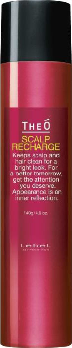 Lebel TheO Scalp Treatment Recharge Восстанавливающий спрей, 140 г1146лпСоздает ощущение чистых волос и кожи головы. Обеспечивает смягчение, интенсивное увлажнение и омолаживает кожу головы. WOW-эффект! - микропузырьки с газом увеличивают проникновение компонентов в кожу головы для предотвращения потери волос. Обладает интенсивным охлаждающим эффектом. Имеет благородный парфюмерный ароматСодержит: экстракт тамариска, ментол, тимол, бетаин, экстракт черного имбиря, экстракт корня бамбука, экстракт ремании, экстракт семян сои, зеленый чайОбъем: 140 гр