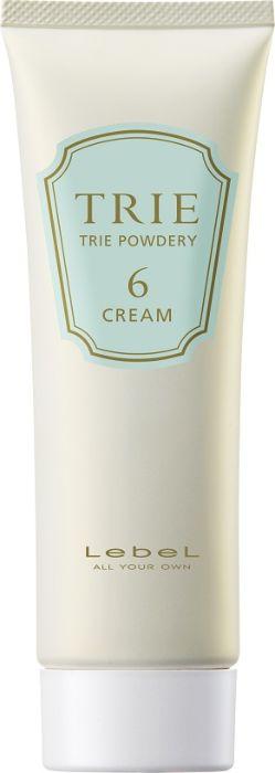 Lebel Trie Powdery Cream, 6 Крем матовый для укладки волос средней фиксации, 80 г