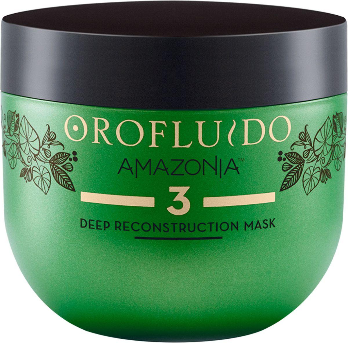 Orofluido Amazonia Deep Reconstruction Mask Шаг 3 Маска для глубокого восстановления волос, 500 мл