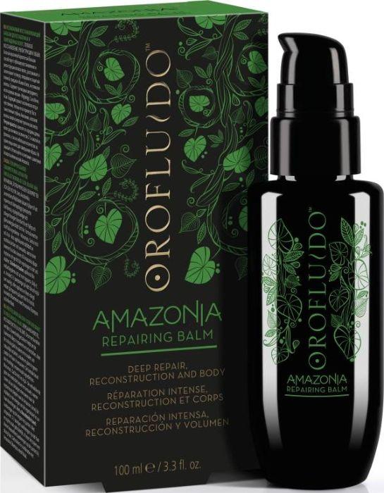 Orofluido Amazonia Repairing Balm Несмываемый восстанавливающий бальзам для ослабленных и поврежденных волос, 100 мл7240794000Восстанавливающий бальзам Orofluido Amazonia богатый кератином, придает волосам силу и энергии тропического леса Амазонки.Он глубоко восстанавливает структуру волос, разглаживая и уплотняя кутикулу, чтобы достичь естественной жизненной силы, упругости и блеска без утяжеления.В составе продукта содержатся омега-кислоты омега-3 и омега-6, а также кератиновые аминокислоты.В тонком аромате Orofluido Amazonia присутствуют экзотические ягоды, соединенные с нотками цитрусовых и имбиря, а также цветочные нотки на чувственной мускусной основе.Линейка Orofluido Amazonia предназначена для восстановления поврежденных волос и идеально подходит для ослабленных, сильно поврежденных и ломких волос.Масло Муру-муру Богато жирными кислотами, которые помогают восстановить кутикулу и делают волосы мягкими, гладкими и устойчивыми к повреждениям. Формирует защитную пленку, сглаживает кутикулу – обеспечивает восстановление и плотность.Масло Сача Инчи Высокое содержание ненасыщенных жирных кислот Omega-3 и Omega-6. Восстанавливает волосы, делает их более стойким к повреждениям.Масло ягод Асаи Одни из самых питательных ягод на планете, которые обладают антиоксидантными свойствами. Обеспечивают питание волос и защиту от свободных радикалов. Аромат: Бодрящий аромат экзотических ягод с деликатными острыми верхними нотами цитруса и имбиря, смешиваются с легкими цветочными нотами сердца и чувственными мускусными базовыми нотами.Объем: 100 мл
