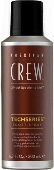 American Crew Boost Spray Спрей для объема, 200 мл7241835000Спрей придает волосам головокружительный объем, выделяет текстуру, особенно рекомендуется для длинных мужских волос. Средство прекрасно освежает волосы и кожу головы, устраняет их повышенную жирность.Объем: 200 мл
