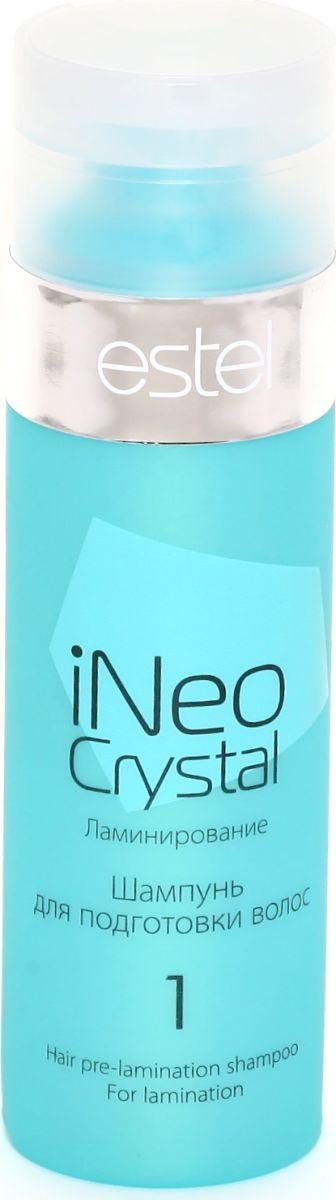 Estel iNeo-Crystal Шампунь для подготовки волос, 200 млCR.1Входит в набор iNeo-Crystal и продается отдельно. Результат: Глубоко очищает волосы от загрязнений и продуктов стайлинга. Подготавливает волосы к процедуре ламинирования. Способствует максимальному проникновению ламинирующего состава в структуру волоса. Объем: 200 мл