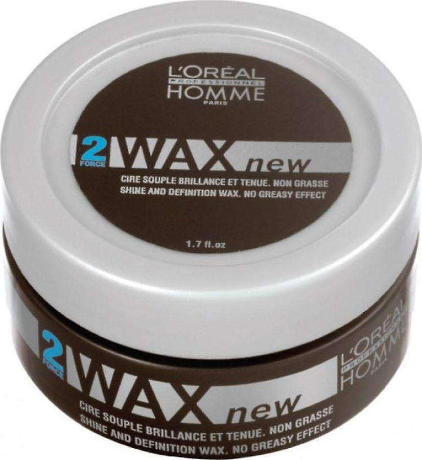 LOreal Professionnel Homme Мужская Линия Воск, 50 млE0163393Воск Homme Wax специально создан для мягкой укладки и ее фиксации. Формула этого продукта включает ряд активных компонентов, которые дают возможность формировать разнообразные трансформирующиеся укладки и обеспечивают прическе фиксацию 2-ой степени. Вы можете придать волосам эффектную небрежность или сделать прическу гладкой – в любом случае волосы сохранят упругость, мягкость и легкость. Для создания гладких причесок перед нанесением продукта намочите волосы. Эффект небрежной укладки создается на сухих волосах.Объём: 50 мл