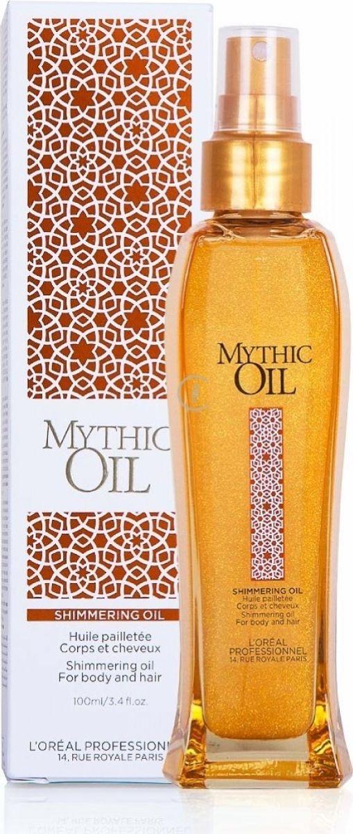 LOreal Professionnel Mythic Oil Мерцающее масло для волос и тела, 100 млE698840Легкая, тающая текстура масла, которая обеспечивает идеальный баланс блеска, питания, увлажнения волос и тела. Бережно ухаживает за волосами, не утяжеляя их, и мгновенно впитывается на теле, оставляя после себя приятный аромат и роскошное мерцание. В составе Мерцающего масла для волос и тела входит питательный комплекс из масла МАГНОЛИИ. 1. Новый жест красоты для волос и тела 2. Эксклюзивная технология - масло в формате сыворотки 3. Новая изысканная парфюмерная композицияОбъем: 100 мл.