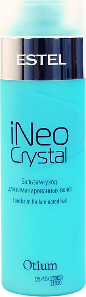 Estel Otium iNeo-Crystal Бальзам-уход для ламинированных волос, 200 млOT.59Это удивительный бальзам OTIUM iNeo-Crystal, который сможет обеспечить вашим волосам желаемый уход. Он часто используется в случае с ламинированными волосами. Данный бальзам необходимо использовать два раза в неделю, а в остальные дни можно наносить обычный уход. На слегка влажные волосы нужно его нанести и выдержать от 2 до 3 минут, после чего тщательно смыть. Данный бальзам OTIUM iNeo-Crystal придает вашим волосам целый ряд положительных эффектов, а именно блеск, длительное сохранение цвета и особую гладкость. Объем: 200 мл