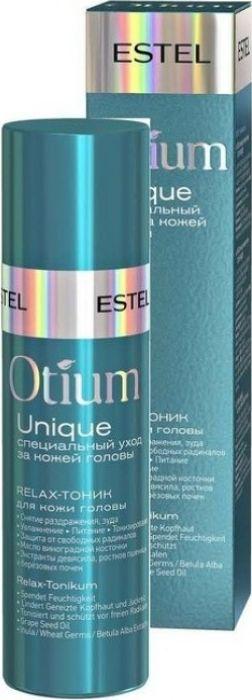 Estel Otium Unique Relax Тоник для кожи головы, 100 млOTM.18Relax-тоник Estel Professional Otium Unique увлажняет сухую и чувствительную кожу головы, снимает раздражение, тонизирует. Препарат активизирует процесс регенерации клеток, защищает от воздействия свободных радикалов и обеспечивает длительный relax-эффект. Estel Professional - это производитель профессиональных средств для ухода за волосами, ресницами и кожей. Эксперты бренда разрабатывают и производят более 1000 наименований продукции, которая пользуется спросом не только у обычных потребителей, но у профессионалов. Товары, выпускаемые данной маркой, отвечают высочайшим международным стандартам. Производство оснащено по последнему слову техники, что позволяет строго контролировать каждый этап создания препаратов, проводить тестирование ингредиентов и готовой продукции. Формулы косметики Estel Professional основаны на натуральных природных компонентах, потому средства не оказывают негативного влияния на организм и помогают достичь высочайших результатов от их применения.Объем: 100 мл