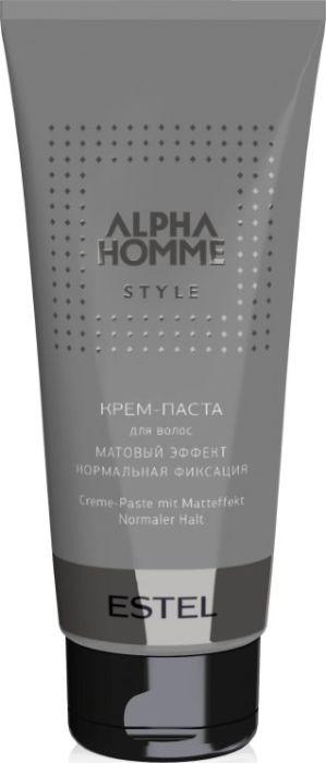 Estel Alpha Homme Крем-паста для волос с матовым эффектом, 100 гAH/KPКрем-паста для мужской укладки. Позволяет создавать креативные прически, акцентировать отдельные пряди и зафиксировать их. Легкая текстура не утяжеляет волосы, простая в использовании. Основные преимущества: -гибкая и эластичная укладка; -надежная фиксация средней силы; -матовый эффект.Объем: 100 мл