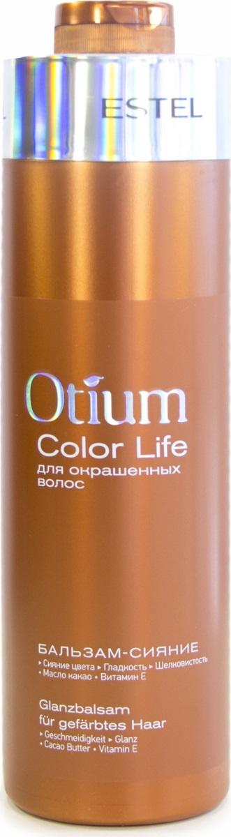 Estel Otium Color Life Бальзам-сияние для окрашенных волос, 1000 млOTM.7/1000Estel Otium Color Life Бальзам-сияние для окрашенных волос, предотвращает преждевременное вымывание цвета. Интенсивно кондиционирует, придаёт сияющий глянцевый блеск и шелковистость. Для ежедневного применения.Объем: 1000 мл