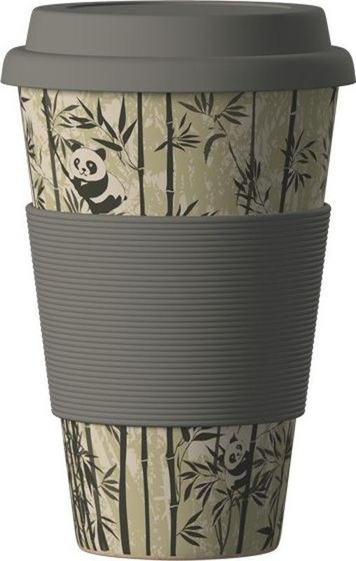 Стакан BambooCup Панда, экологичный, 400 млZK121-PUBambooCup Панда - термо эко-кружка, изготовленная из органических, натуральных, стерильных бамбуковых волокон в комбинации с кукурузной мукой и смолой из аминокислот. Экологичная утилизация - просто сомните, прокипятите в кипящей воде и поместите в органический компост.