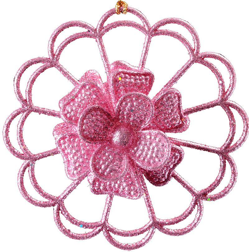 Украшение для интерьера новогоднее Erich Krause Снежинка кружевная , 9 см31647Снежинка очаровывает тонкой рельефной конструкцией и нежным розовым цветом. Сверкающие блестки добавляют изделию очарования. Упаковка - полибэг.