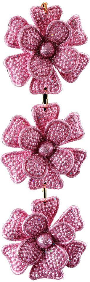 Украшение для интерьера новогоднее Erich Krause Цветочная гирлянда, 15 см31649Изящное украшение в виде подвески, состоящей из трех цветков, выглядит сдержанно и благородно. Каждый цветок отличается рельефным узором и покрыт переливающимися блестками. Упаковка - полибэг.