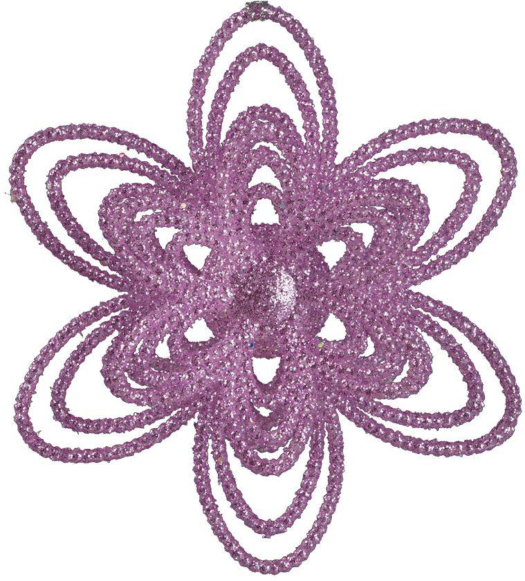 Украшение для интерьера новогоднее Erich Krause Нежный цвет, 12 см35962Красочное розовое украшение в виде цветка поражает объемной текстурой и сверкающими блестками. Подходит для украшения больших елок и интерьера. Упаковка - полибэг.
