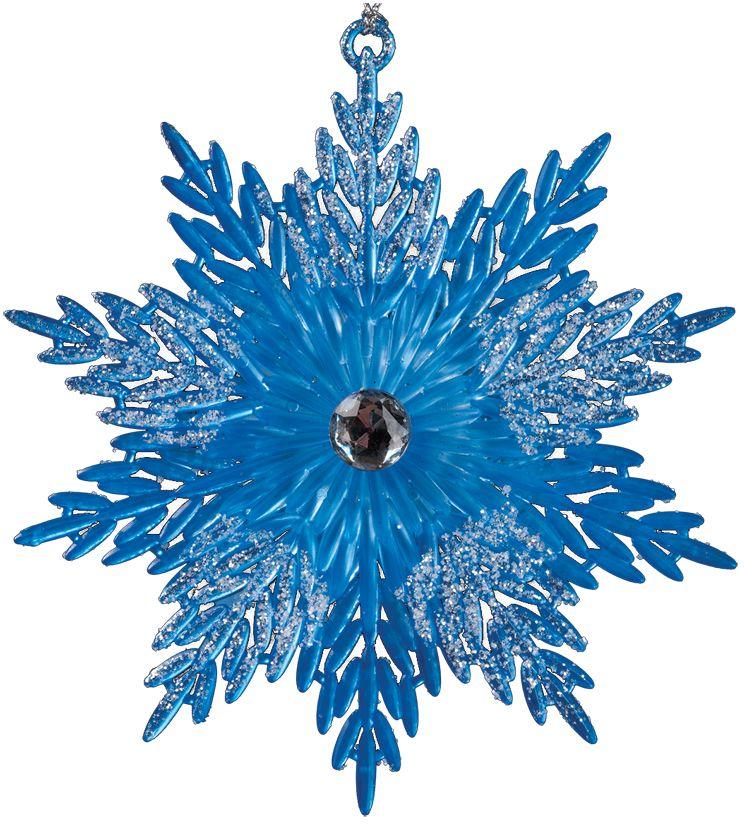 Украшение для интерьера новогоднее Erich Krause Снежинка искусная, 13 см35982Снежинка очаровывает тонкой рельефной конструкцией и ярким цветом лазури. Сверкающие блестки добавляют изделию очарования. Упаковка - полибэг.