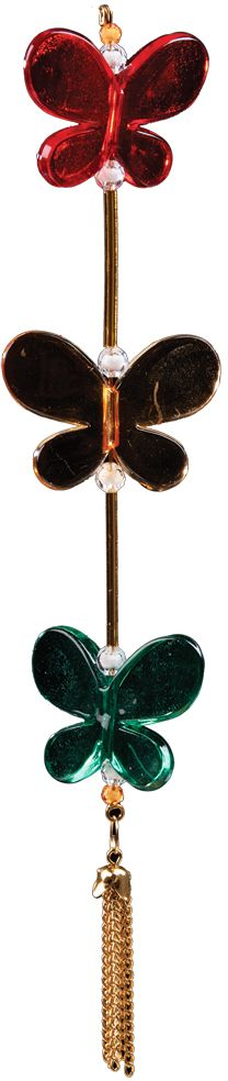 Украшение для интерьера новогоднее Erich Krause Полет бабочки, 21,5 см36030Полупрозрачные бабочки из пластика наиболее интересно использовать для декорации помещения. Модель представлена в четырех вариантах цветов. Выбор не предусмотрен. Новогодние украшения всегда несут в себе волшебство и красоту праздника. Создайте в своем доме атмосферу тепла, веселья и радости, украшая его всей семьей.