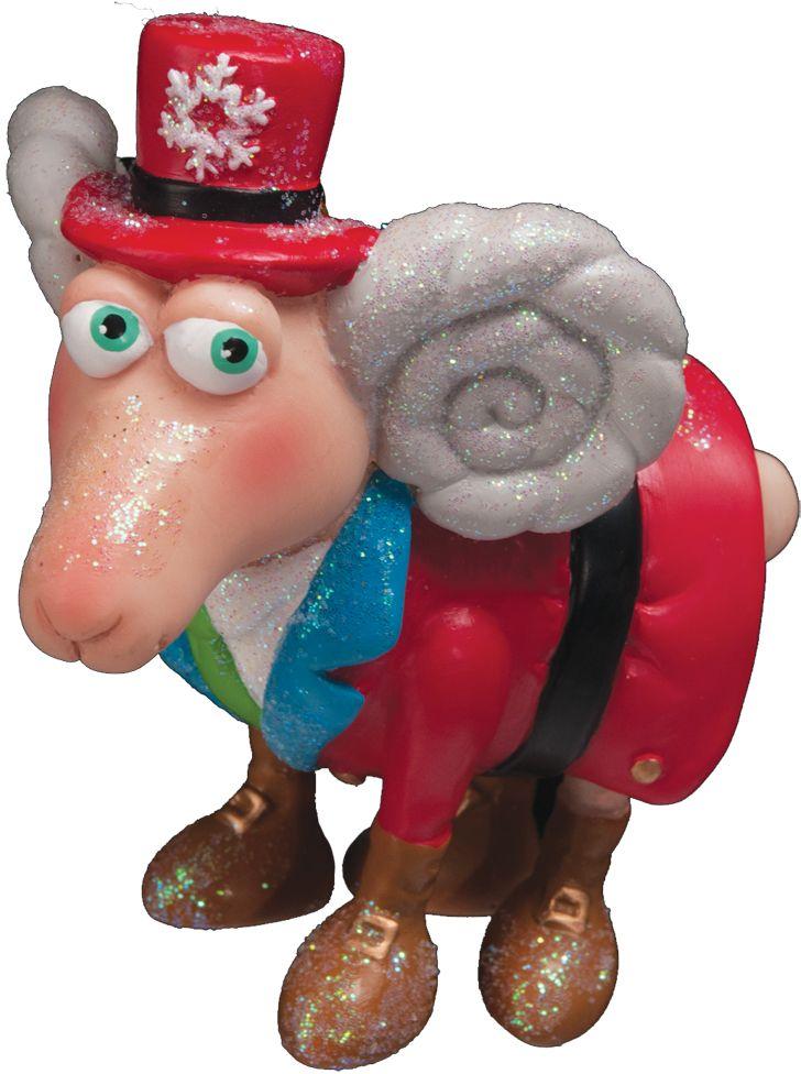 Украшение для интерьера новогоднее Erich Krause Английский санта, 8 см36738Дизайнерский барашек в костюме, миниатюрном цилиндре и изящных ботах порадует любителей оригинальных украшений. Цена снижена, так как данная модель входила в коллекцию к году Овцы. Упаковка предназначена только для безопасной транспортировки и хранения.