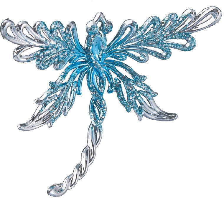 Украшение для интерьера новогоднее Erich Krause Стрекозка, 12 см38065Украшение в виде стрекозы выполнено в голубом цвете и декорировано блестками. Фигурки животных всегда пользуются большой популярностью, и спрос на них является стабильно высоким. Новогодние украшения всегда несут в себе волшебство и красоту праздника. Создайте в своем доме атмосферу тепла, веселья и радости, украшая его всей семьей.