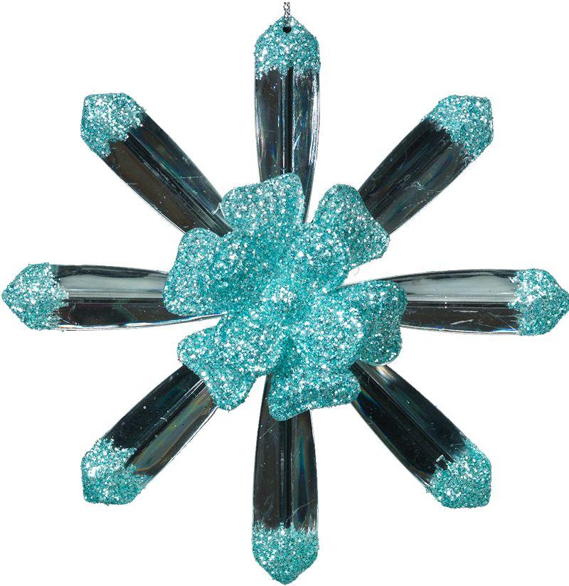 Украшение для интерьера новогоднее Erich Krause Снежинка лучистая, 12 см40328Оригинальность снежинке придают прозрачные лучи, выходящие из ярко выраженной цветочной сердцевины. Мелкие блестки бирюзового цвета завершают торжественный образ. Упаковка - полибэг.