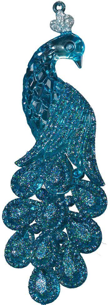 Украшение для интерьера новогоднее Erich Krause Гордый павлин, 14,5 см40332Украшение в виде павлина выполнено в прозрачном голубом цвете и декорировано сверкающими блестками. Фигурки животных всегда пользуются большой популярностью, и спрос на них является стабильно высоким. Упаковка - полибэг.