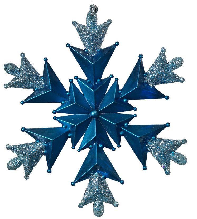 Снежинка очаровывает тонкой рельефной конструкцией и ярким цветом лазури. Сверкающие блестки добавляют изделию очарования.  Новогодние украшения всегда несут в себе волшебство и красоту праздника. Создайте в своем доме атмосферу тепла, веселья и радости, украшая его всей семьей.