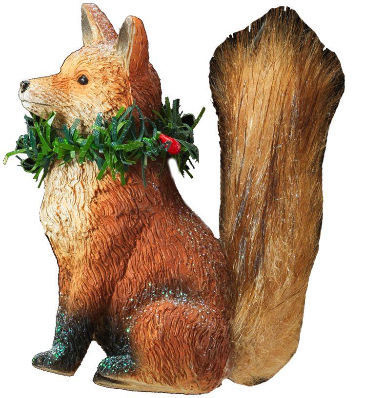Украшение для интерьера новогоднее Erich Krause Лисичка, 9 см41060Животные, выполненные в классическом стиле, всегда радуют жителей России. Лисичка с пушистым хвостом и рождественским венком на шее станет другом, с которым хочется встречаться ежегодно. Групповая Новогодние украшения всегда несут в себе волшебство и красоту праздника. Создайте в своем доме атмосферу тепла, веселья и радости, украшая его всей семьей.
