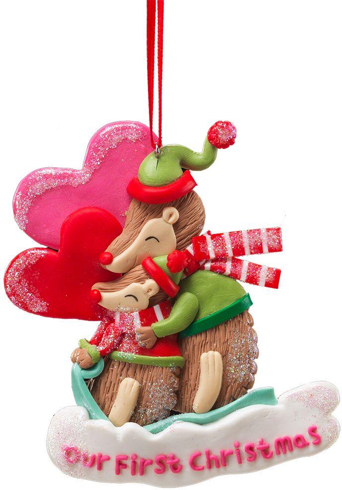 Украшение для интерьера новогоднее Erich Krause Рождество Для двоих, 12 см41159Новогодние украшения всегда несут в себе волшебство и красоту праздника. Создайте в своем доме атмосферу тепла, веселья и радости, украшая его всей семьей.