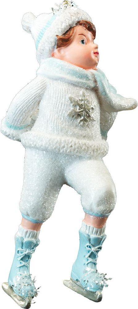 Украшение для интерьера новогоднее Erich Krause Танцы на льду, 11 см41171Тема дети на Рождество подчеркнуто перекликается с персонажами сказки Снежная Королева. Новогодние украшения всегда несут в себе волшебство и красоту праздника. Создайте в своем доме атмосферу тепла, веселья и радости, украшая его всей семьей.