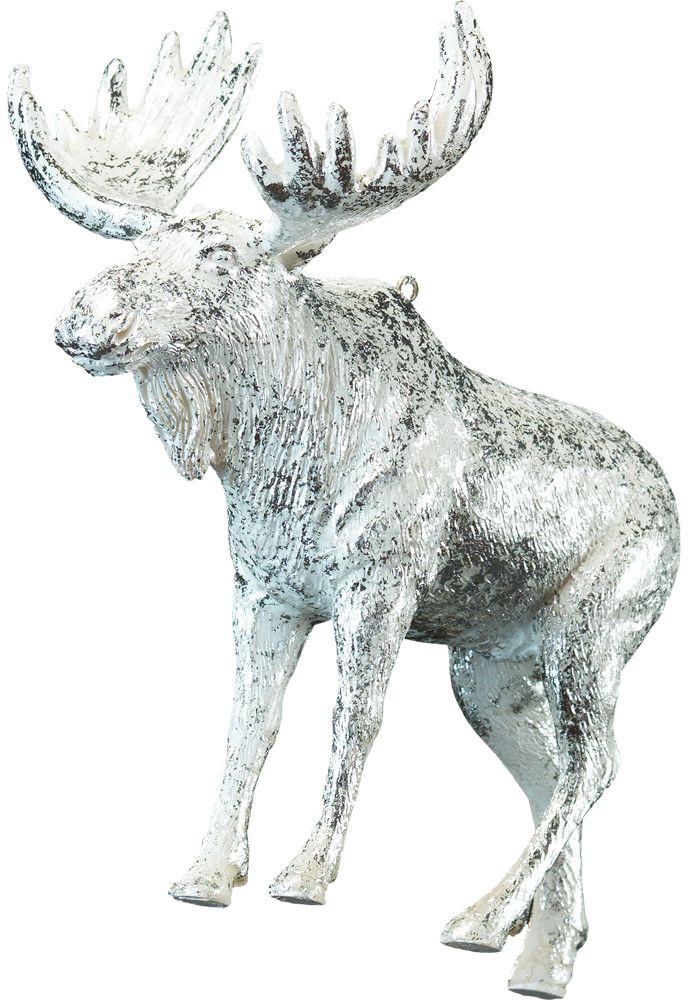 Украшение для интерьера новогоднее Erich Krause Обитатель севера, 10 см41177Изделие достаточно тяжелое и больше подходит для искусственных ёлок. Украшение полностью покрыто сверкающей серебряной краской. Новогодние украшения всегда несут в себе волшебство и красоту праздника. Создайте в своем доме атмосферу тепла, веселья и радости, украшая его всей семьей.