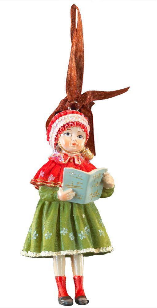 Украшение для интерьера новогоднее Erich Krause Девочка с книгой, 10 см44228Фигурки ребятишек в стиле ретро являются хитом на протяжении многих лет. Эти украшения нравятся детям и взрослым. Красивые наряды и милые лица вызывают восхищение.Новогодние украшения всегда несут в себе волшебство и красоту праздника. Создайте в своем доме атмосферу тепла, веселья и радости, украшая его всей семьей.