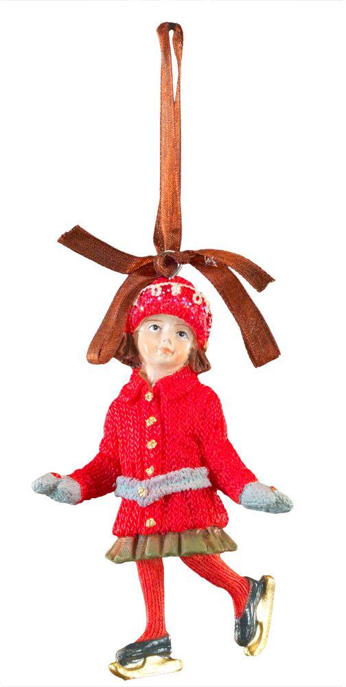 Украшение для интерьера новогоднее Erich Krause Девочка на коньках, 10 см44230Фигурки ребятишек в стиле ретро являются хитом на протяжении многих лет. Эти украшения нравятся детям и взрослым. Красивые наряды и милые лица вызывают восхищение.Новогодние украшения всегда несут в себе волшебство и красоту праздника. Создайте в своем доме атмосферу тепла, веселья и радости, украшая его всей семьей.