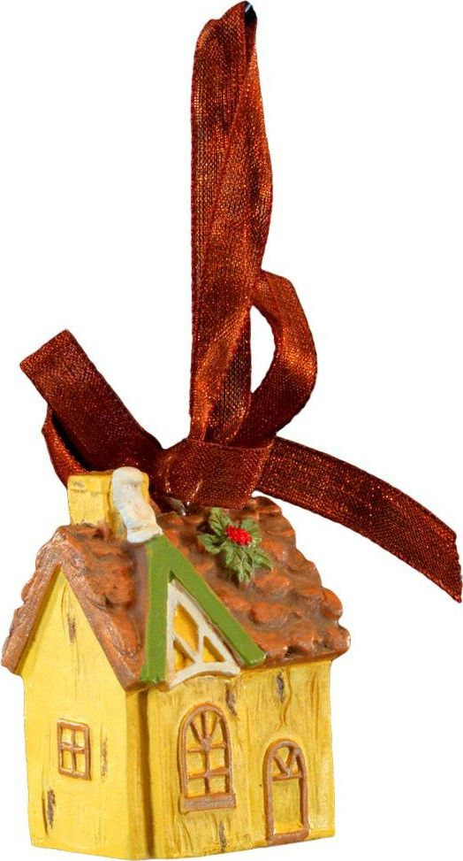 Украшение для интерьера новогоднее Erich Krause Лесной домик, 4 см44236Крохотный объемный домик из полирезины создан для декорирования праздничной елки, но также подойдет в качестве оригинального сувенира. Изделие оснащено красивой ленточкой для подвешивания. Новогодние украшения всегда несут в себе волшебство и красоту праздника. Создайте в своем доме атмосферу тепла, веселья и радости, украшая его всей семьей.