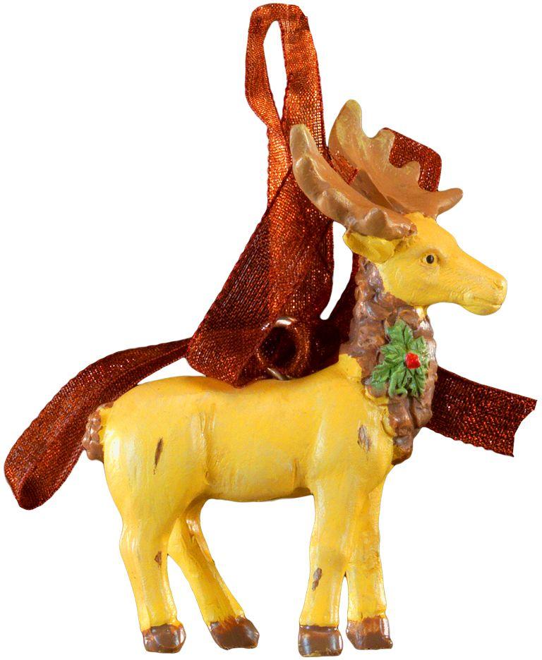Украшение для интерьера новогоднее Erich Krause Лесной олень, 6 см44240Миниатюрный олень теплого цвета лесной древесины, выполнен из полирезины. Изделие оснащено красивой ленточкой для подвешивания. Новогодние украшения всегда несут в себе волшебство и красоту праздника. Создайте в своем доме атмосферу тепла, веселья и радости, украшая его всей семьей.