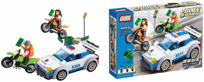 Gudi Конструктор Полиция 9311