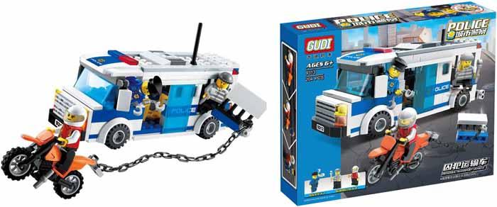 Конструктор CLICS Полиция 8 в 1 BC001