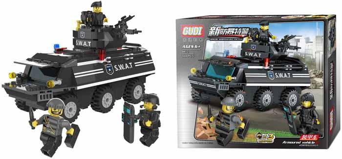 Gudi Конструктор Спецназ 9412